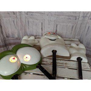 Paper magic light up ghost goblin blow mold lawn d